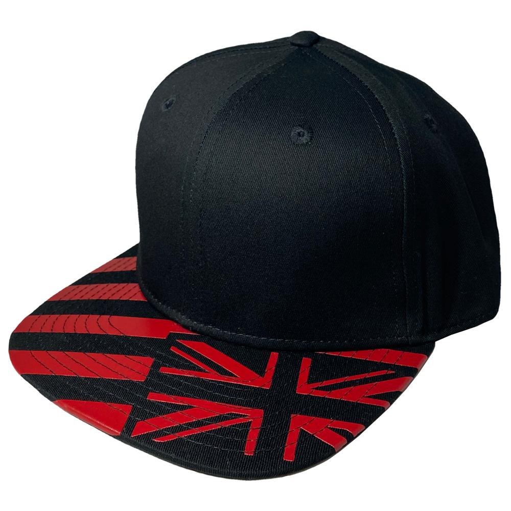 BlackRedFlag_Flatbill_Snapback