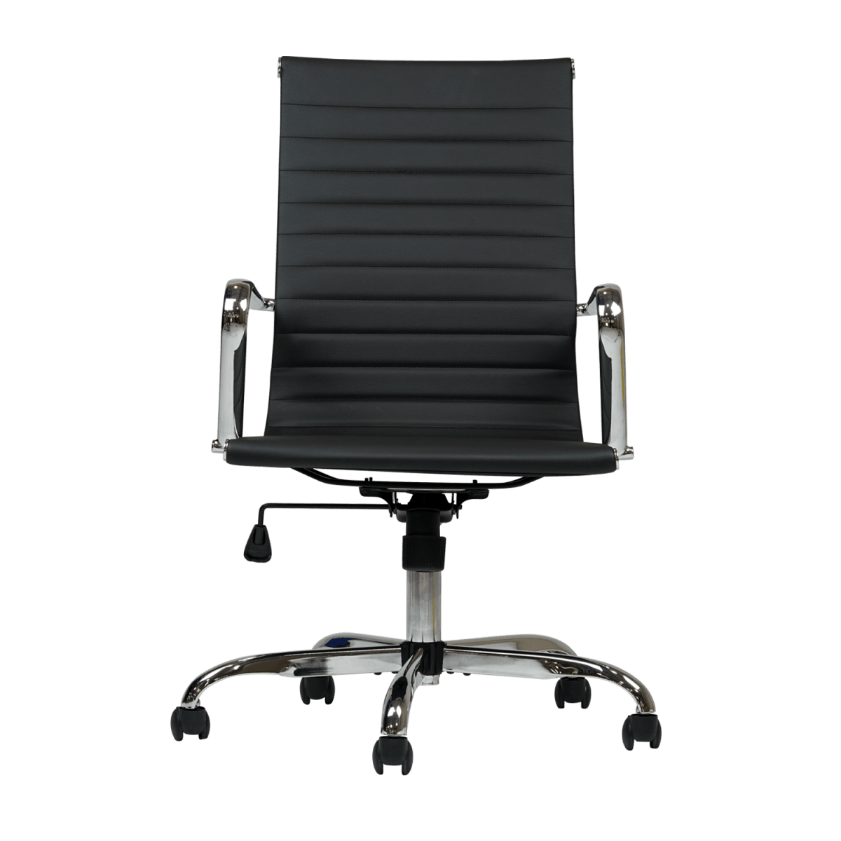office chair types dining covers gumtree double star furniture eames inspired black desk