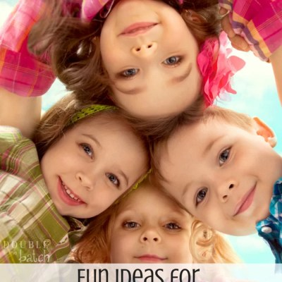 Fun ideas for surviving the summer months with kids