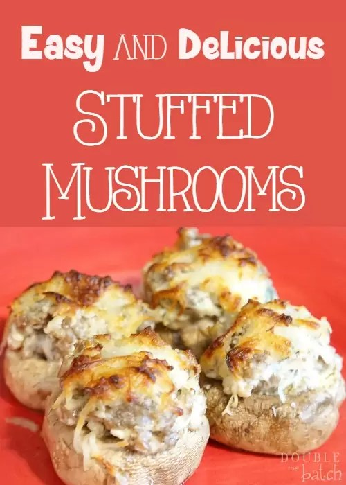 Super easy and delicious!  These stuffed mushrooms are a hit at any  get together!