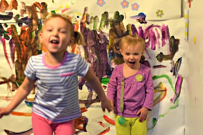 Wall Mural Painting Fun For Kids