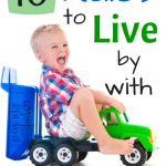 10 Rules for Parenting Toddlers