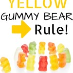The Yellow Gummy Bear Rule (Opposition in all Things)