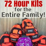 How to Make 72 Hour Kits for Families