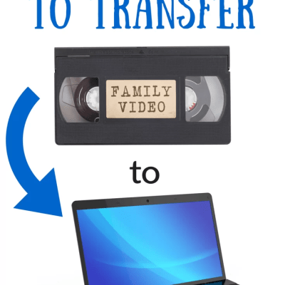 How to Transfer Your VHS Home Movies to Your Computer
