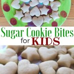 Sugar Cookie Bites for Kids