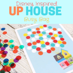 UP HOUSE INSPIRED BUSY BAG plus FREE Printable