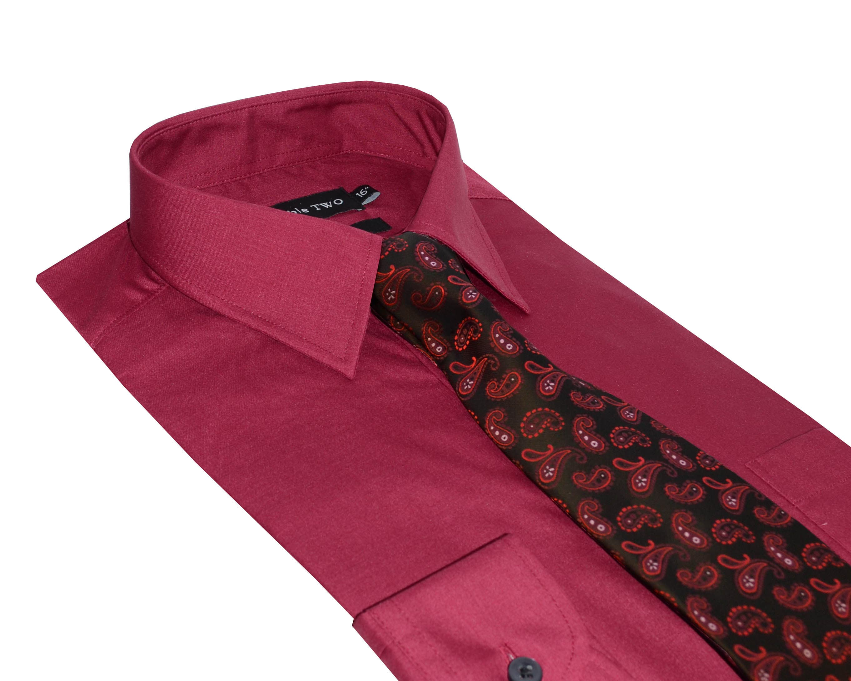 Tie And Sets Shirts Bow Mens