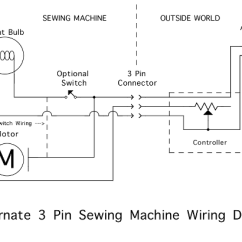 Treadmill Wiring Diagram Draw The Tracing Of Panel An Alternator Image Zorba's Secret Sewing Machine Page!