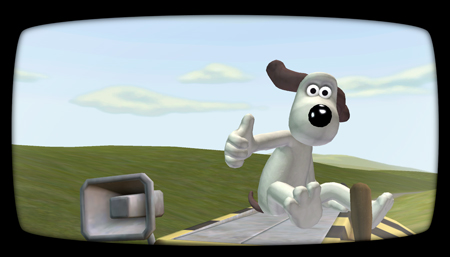Cracking demo, Gromit!