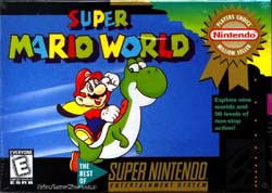 Super Mario World Boxart