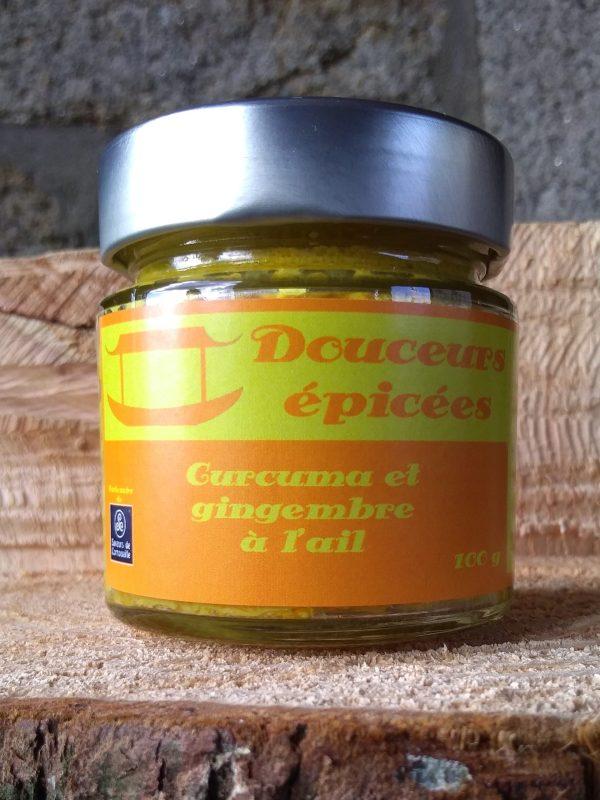douceurs épicées curcuma gingembre et ail