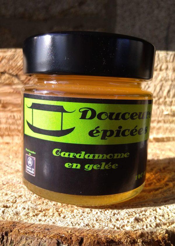 douceurs épicées cardamome en gelée