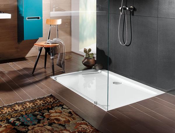 comment se d roule la construction d une douche italienne. Black Bedroom Furniture Sets. Home Design Ideas