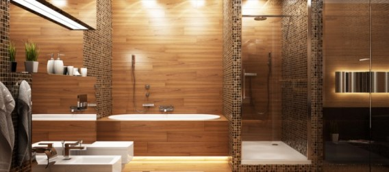 Un clairage parfait pour sa douche italienne for Lumiere chauffante pour salle de bain