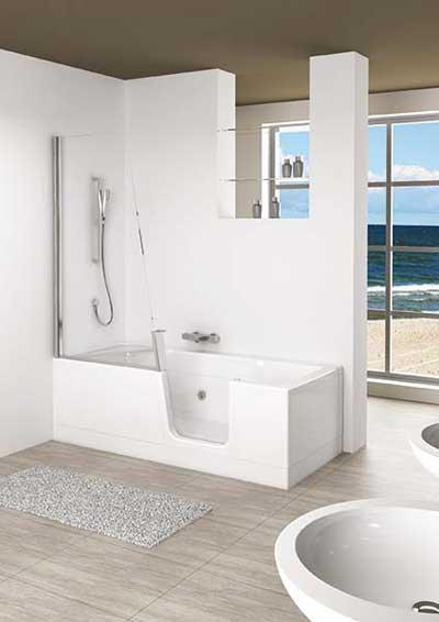 baignoires balneo avec porte d acces