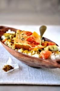 Curry  de truite aux legumes.rz