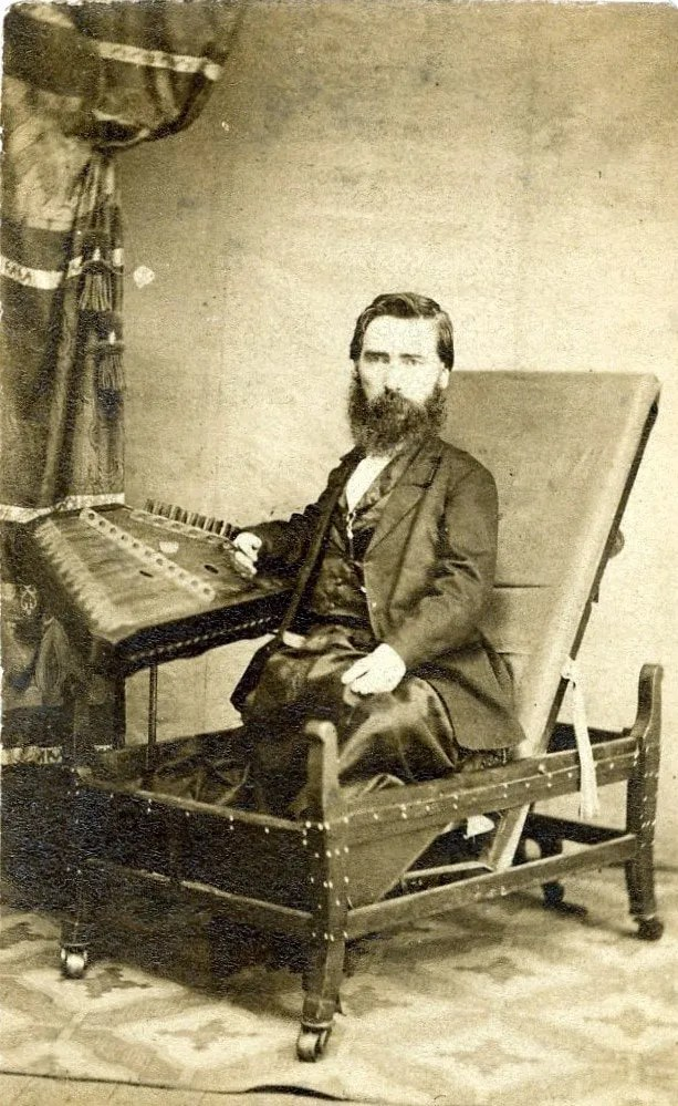 S. Hunter Smith, Hammered Dulcimer Player - Born In 1828