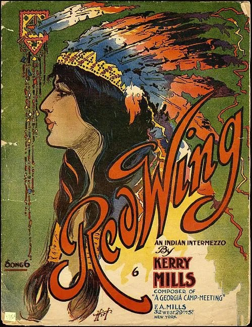 Red Wing by Kerry Mills - 1907