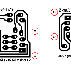 Vga Extension Cable Wiring Diagram Mk1 Golf Gti Fuse Box Over Cat 5 Etch Circuit Boards