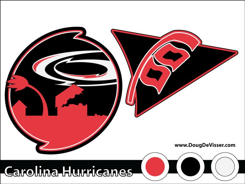 2010 NHL rebranding - Carolina Hurricanes