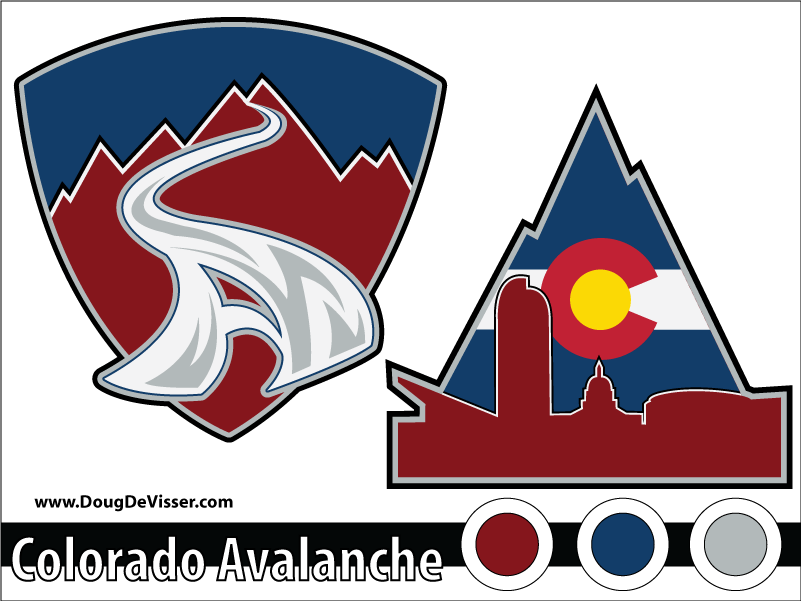 2010 NHL rebranding - Colorado Avalanche