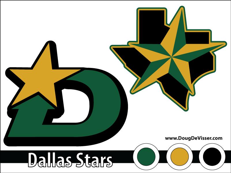 2010 NHL rebranding - Dallas Stars
