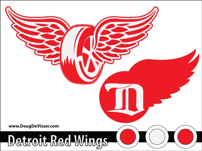2010 NHL rebranding - Detroit Red Wings