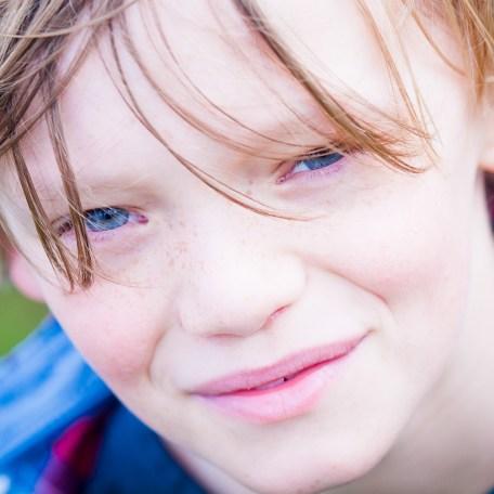 Candid Portrait of a boy by Doug Harman