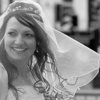 The professional wedding photography taken for John and Jana at Folkestone, Kent.