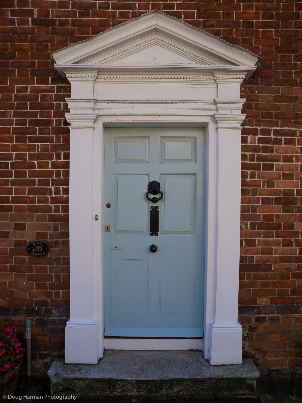 A blue door photo that forms part of my Doorways project.