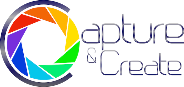 The new logo for Capture and Create