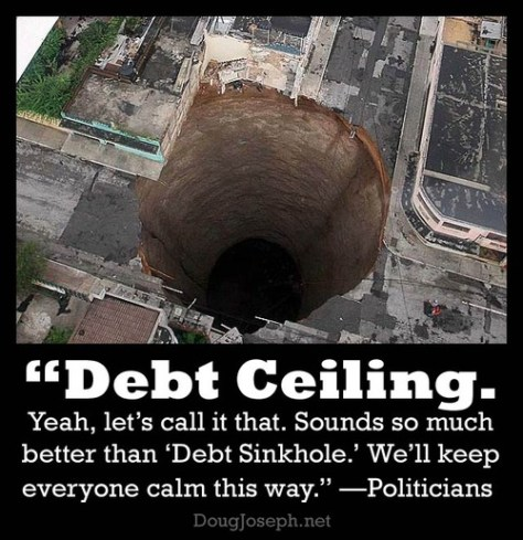 Debt-sinkhole