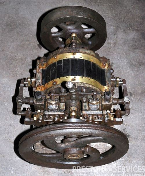 small resolution of left the outridge rotary engine 1885