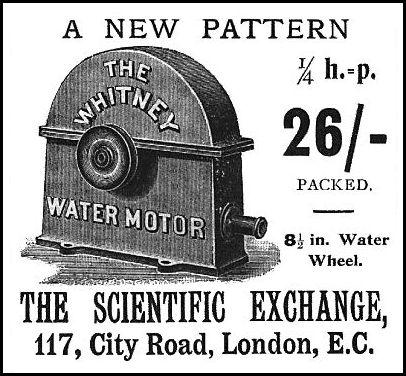 Water Motors.