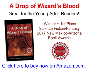 """""""A Drop of Wizard's Blood"""" is a great, award-winning book for young adult readers."""