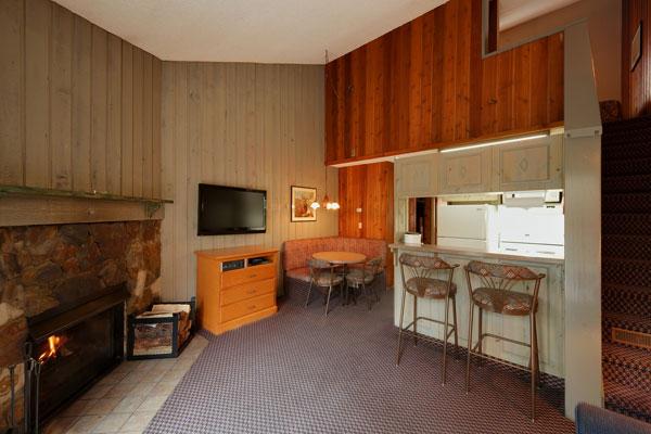 One Bedroom Loft Condo  Douglas Fir Resort  Chalets