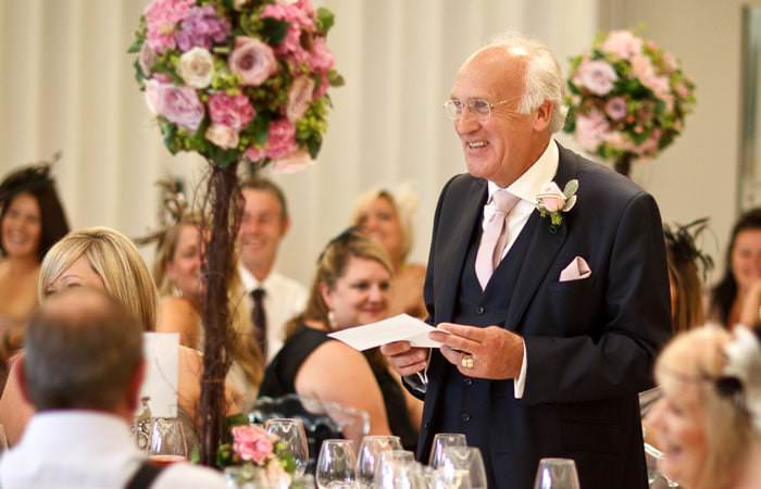 Wedding Photographer Speeches Coworth Park, Ascot