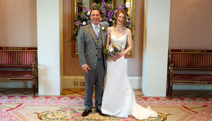 Photograph of Wedding at Lanesborough Hotel London
