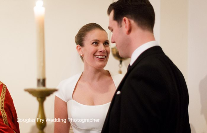 Bride and Groom Photograph at St Vedast, London