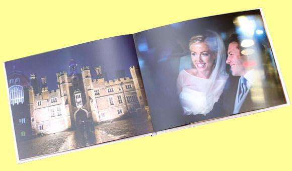 New wedding book of photographs