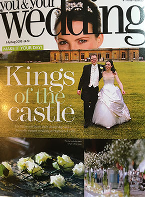 Real Wedding at Highclere Castle
