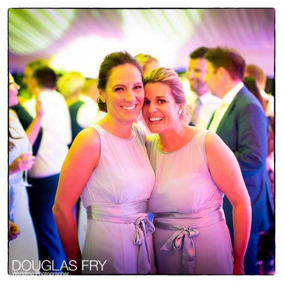 Guests at wedding on dance floor at RAC