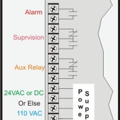 Conventional Fire Alarm System Wiring Diagram Toyota Ae111 Why All The Contacts On A Duct Detector?