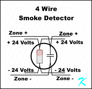 What is a Four Wire Smoke Detector?
