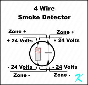 4 Wire Smoke Detector Wiring Diagram Database