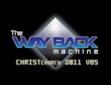 The Way Back machine VBS logo
