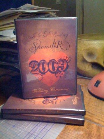 dvd cover-wedding