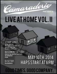 live at home flyer