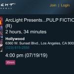 ArcLight Cinemas Presents - Pulp Fiction (screenshot)